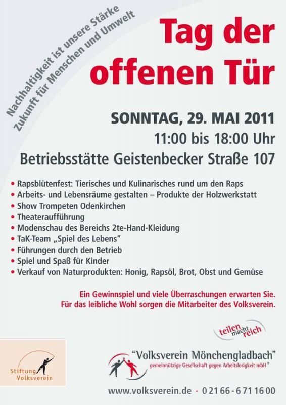Wann ist tag der offenen tür  BürgerZeitung für Mönchengladbach und Umland » Blog Archiv » Tag ...