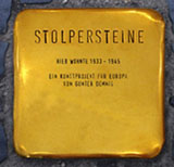 Stolperstein (Muster); Quelle: www.moenchengladbach.de; Foto: Uta Franke
