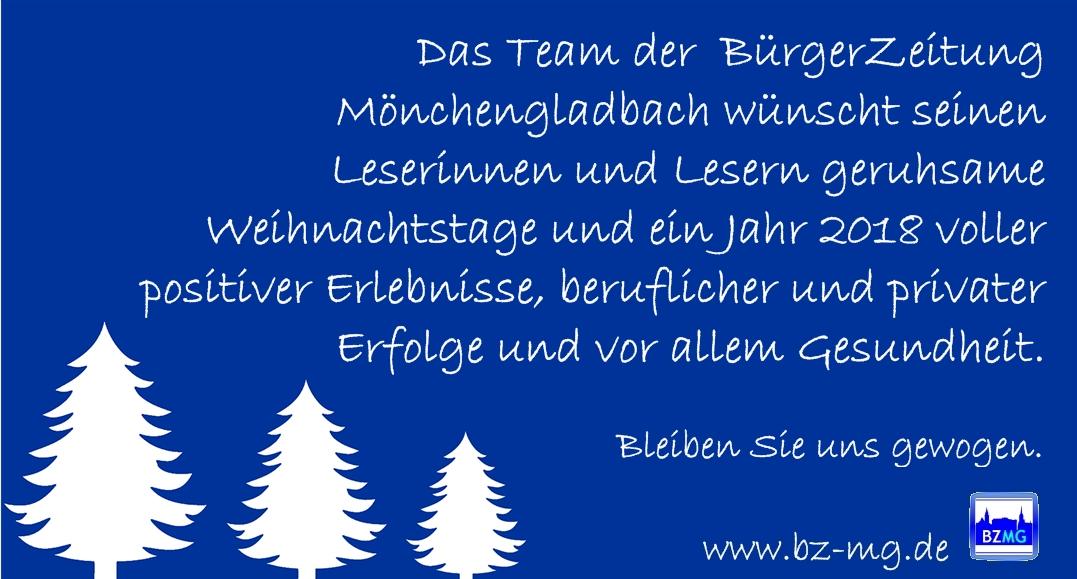 BürgerZeitung für Mönchengladbach und Umland » zur Weihnachtszeit