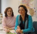 Annemarie Poos-Zurheide und Simone Leenen (rechts) von der Willicher Wirtschaftsförderung